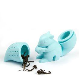 Thee-ei Eekhoorntje siliconen theezeefje, niet magnetisch!
