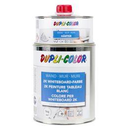Pintura de pizarra blanca L 1 litro para una superficie de 6 m², blanca o transparente, ¡no es magnética!