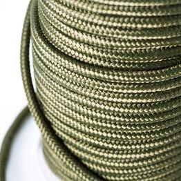 Polypropylen-Seil 9 mm x 60 m zum Magnetfischen, oliv, kein Kletterseil!