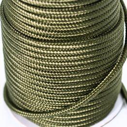 Cuerda de polipropileno 7 mm x 60 m para pesca magnética, oliva, ¡no es una cuerda de escalada!