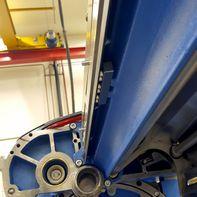 Oprolbeschermer bij de productie van garen