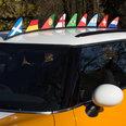 Bandera magnética para el coche