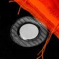 Imanes para coser 18 x 2mm, con funda de PVC redonda