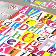 Cifras y letras magnéticas, para mensajes, preguntas y más, más de 200 piezas