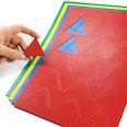 Para pizarras blancas y paneles de planificación, 25 símbolos por hoja A4, en diferentes colores