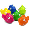 Imanes decorativos con forma de peces, 6 uds.