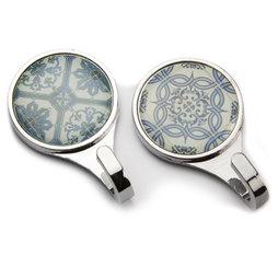 LIV-70, Ganchos magnéticos «Azulejos», ganchos magnéticos con motivos de azulejos, 2 uds.