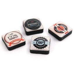SALE-053/sale, Iconos calidad, imanes decorativos cuadrados, 4 uds., con diferentes diseños