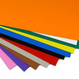 MS-A4, Lámina magnética de color, para rotular y hacer manualidades, formato A4