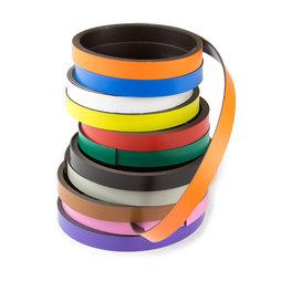 MT-10, Cinta magnética de colores 10 mm, para rotular y cortar, rollos de 1 m