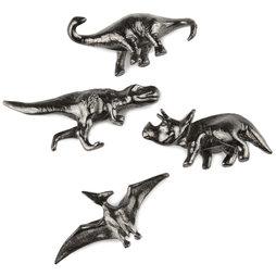 LIV-85, Dinosaurios, imanes de nevera decorativos, 4 uds.