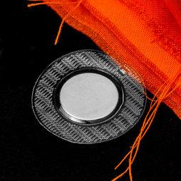 M-SEW-04, imanes para coser 18 x 2 mm, con funda de PVC redonda