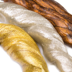 M-PUTTY-METALLIC, Plastilina inteligente «Metal», brillo metálico, diferentes colores, ¡no es magnética!