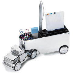 M-OFFICE-TRUCKCH, Office Trucker, pisapapeles, portalápices, portaclips