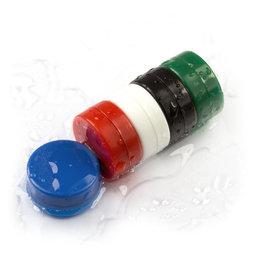 M-DISC-02, Discos magnéticos con funda de plástico Ø 13,4 mm, 5 uds. por set, varios colores