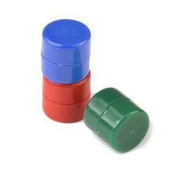 Discos magnéticos con funda de plástico