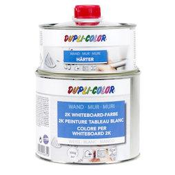 M-WP-500, Pintura de pizarra blanca S 500 ml, para una superficie de 3 m², blanca o transparente, ¡no es magnética!