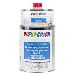 M-WP-1000/white, Pintura de pizarra blanca L 1 litro, para una superficie de 6 m², blanca, ¡no es magnética!