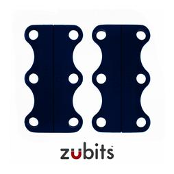 M-ZUB-02/blue, Zubits® M, cierre magnético para calzado, para jóvenes y adultos, azul