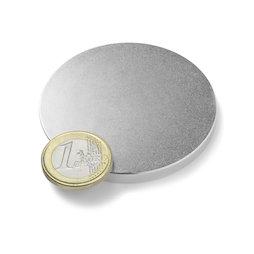 S-60-05-N, Disco magnético Ø 60 mm, alto 5 mm, neodimio, N42, niquelado