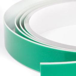 M-FERROTAPE, Nastro metallico autoadesivo bianco, supporto autoadesivo per magneti, rotoli da 1 m / 5 m / 25 m
