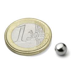K-06-C, Esfera magnética Ø 6 mm, neodimio, N38, cromado