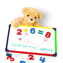 KMWB-2435, Pizarra blanca infantil 24 x 35 cm, para pintar, jugar, escribir y aprender, magnética