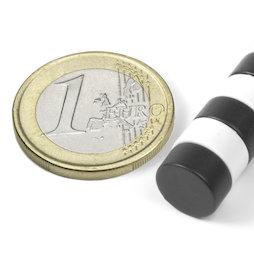 S-10-05-E, Disque magnétique Ø 10 mm, hauteur 5 mm, néodyme, N42, revêtement époxy