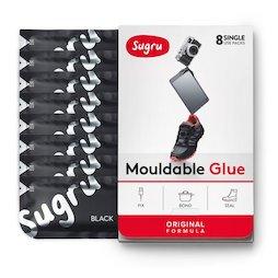 SUG-08, Sugru, pack de 8 uds., pegamento moldeable, en diferentes colores, paquetes de 5 g