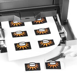 MIP-A4-01, Papel magnético brillante, para imprimir, formato A4, 10 uds. por set