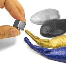M-PUTTY-FERRO, Plastilina magnética inteligente, plastilina ferromagnética, diferentes colores, no incluye imán