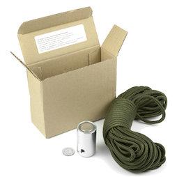M-23, Buscatesoros, imán buscatesoros, con cuerda de nailon de 15 m (5 mm)