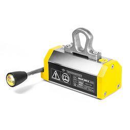 WS-LHM-300E, Elevador magnético MaxX 300E, carga máxima 300 kg, para material redondo y plano, factor de seguridad 3:1