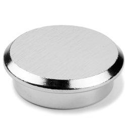 PBM-30, Steel 30, imán de neodimio de acero para oficinas, Ø 30 mm