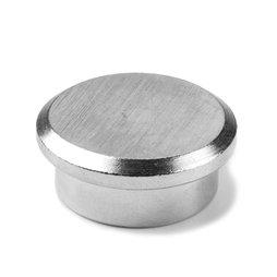 PBM-22, Steel 22, imán de neodimio de acero para oficinas, Ø 22 mm