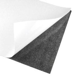 MS-A4-STIC, Lámina magnética adhesiva, Formato A4, para recortar y pegar, gris-negro