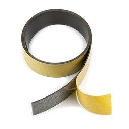 MT-30-STIC, Cinta magnética adhesiva ferrita 30 mm, cinta magnética autoadhesiva, rollos de 1 m / 5 m / 25 m