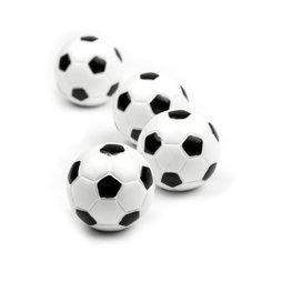LIV-45, Futbolín, imanes decorativos con forma de balón de fútbol, 4 uds.