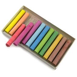 BA-008, Tiza de diferentes colores, para escribir en pizarras convencionales, 12 uds.