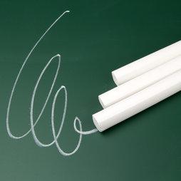 BA-007, Tiza blanca, para escribir en pizarras convencionales, 12 uds.