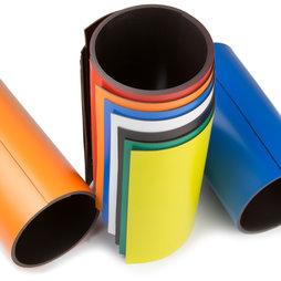 MT-150, Cinta magnética de colores 150 mm, para rotular y cortar, rollos de 1 m