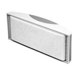 BA-010A, Borrador magnético de pizarra blanca, gran capacidad de absorción, fieltro reemplazable