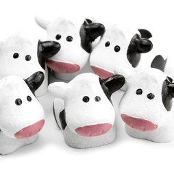 LIV-65, Vacas, potentes imanes de nevera, 6 uds.